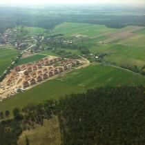 Osiedle w Czmoniu i DW434, maj 2012