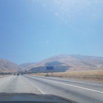 Przemierzamy amerykańskie bezkresy wzdłuż Interstate-5.