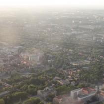 Poznań - dopiero z góry widać jak nasze miasto jest zielone.