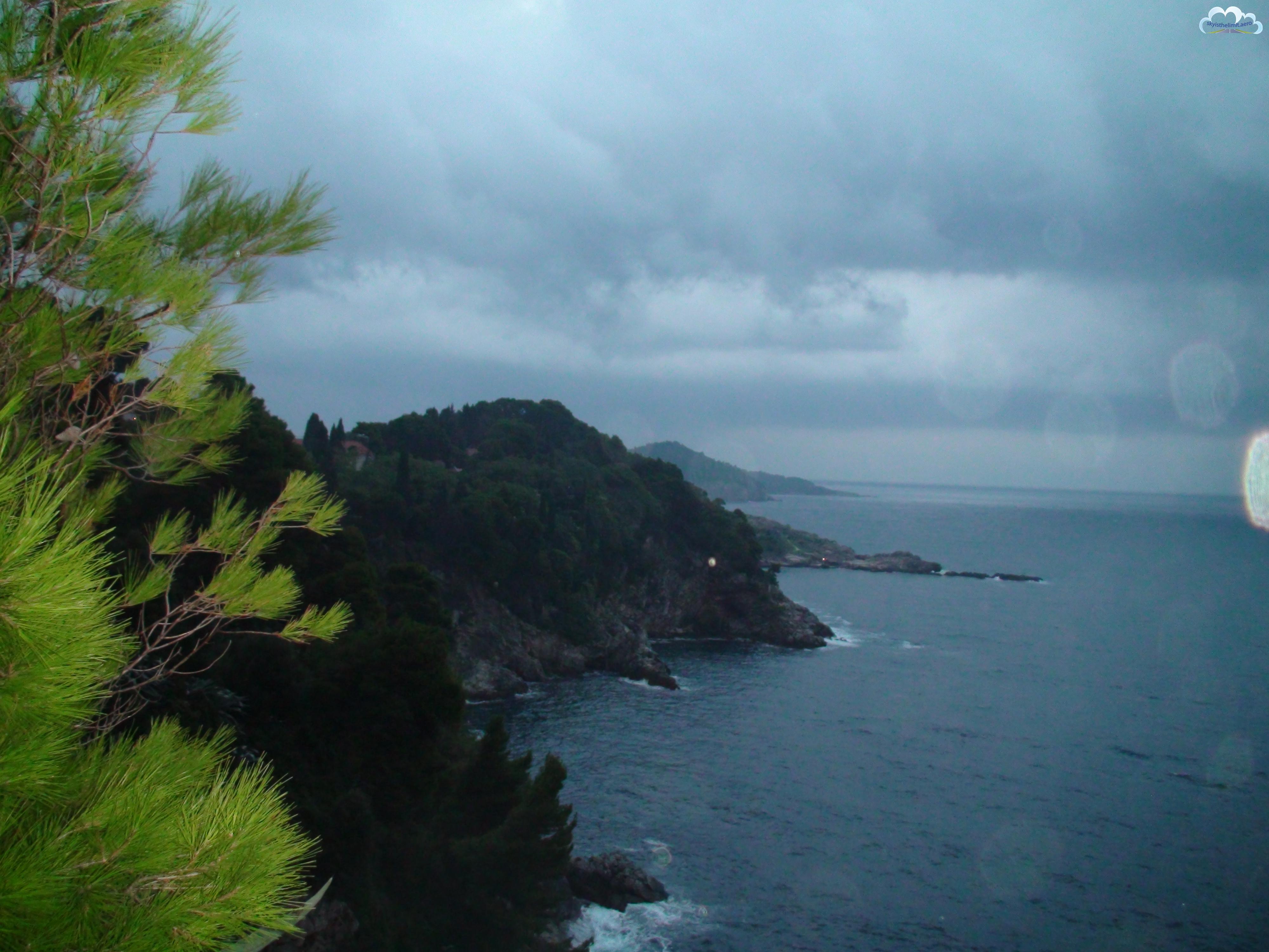Dubrovnik, nabrzeże Adriatyku.