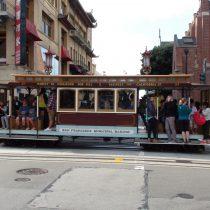 Cable Cars czyli tramwaje.