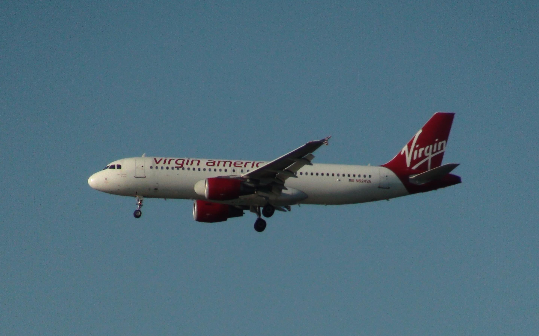 Virgin America Airbus A320-214 reg. N624VA