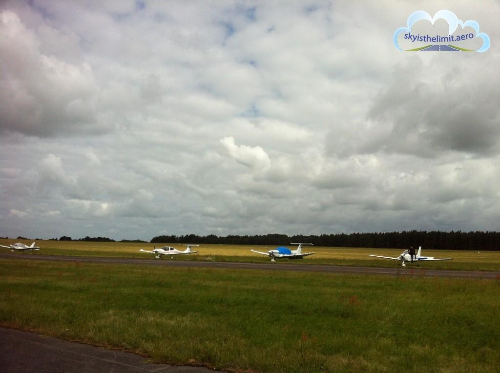 W Heringsdorfie na płycie postojowej naliczyłem kilkanaście samolotów GA.