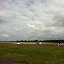 W Heringsdorfie napłycie postojowej naliczyłem kilkanaście samolotów GA.