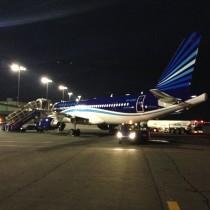 Napłycie lotniska wOstravie zostałem umieszczony wdoborowym towarzystwie dużych samolotów