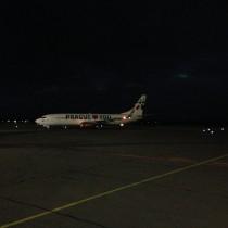 Boeing 737 przezktórydostałem instrukcję przyspieszenia podejścia