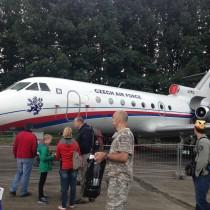 Czeskie siły powietrzne dotransportu VIP nadal wykorzystują radzieckie konstrukcje.