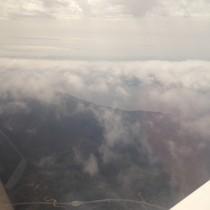 Adriatyk przez chmury.