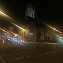 Wieczorny spacer po Dublinie.
