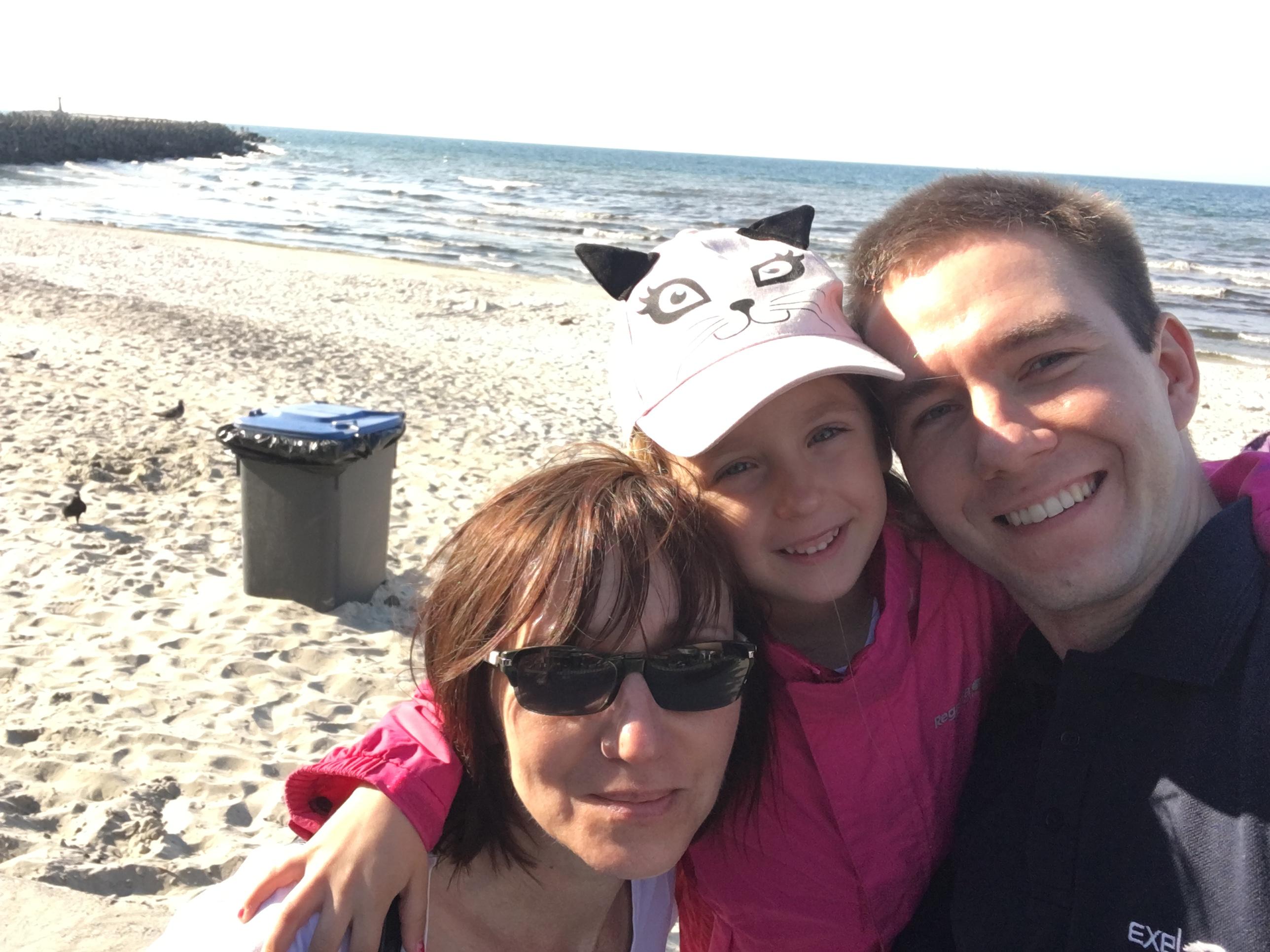 Mama, Jaśmina i Ja - trzy pokolenia na jednej wycieczce.