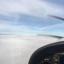 FL100 w okolicach punktu TENVO.