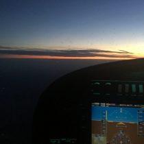 Zachód Słońca to widok, który mi się nigdy nie znudzi.