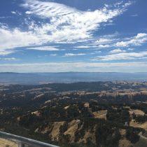 Widok z Mt. Hamilton (ok. 1300 m n.p.m.)