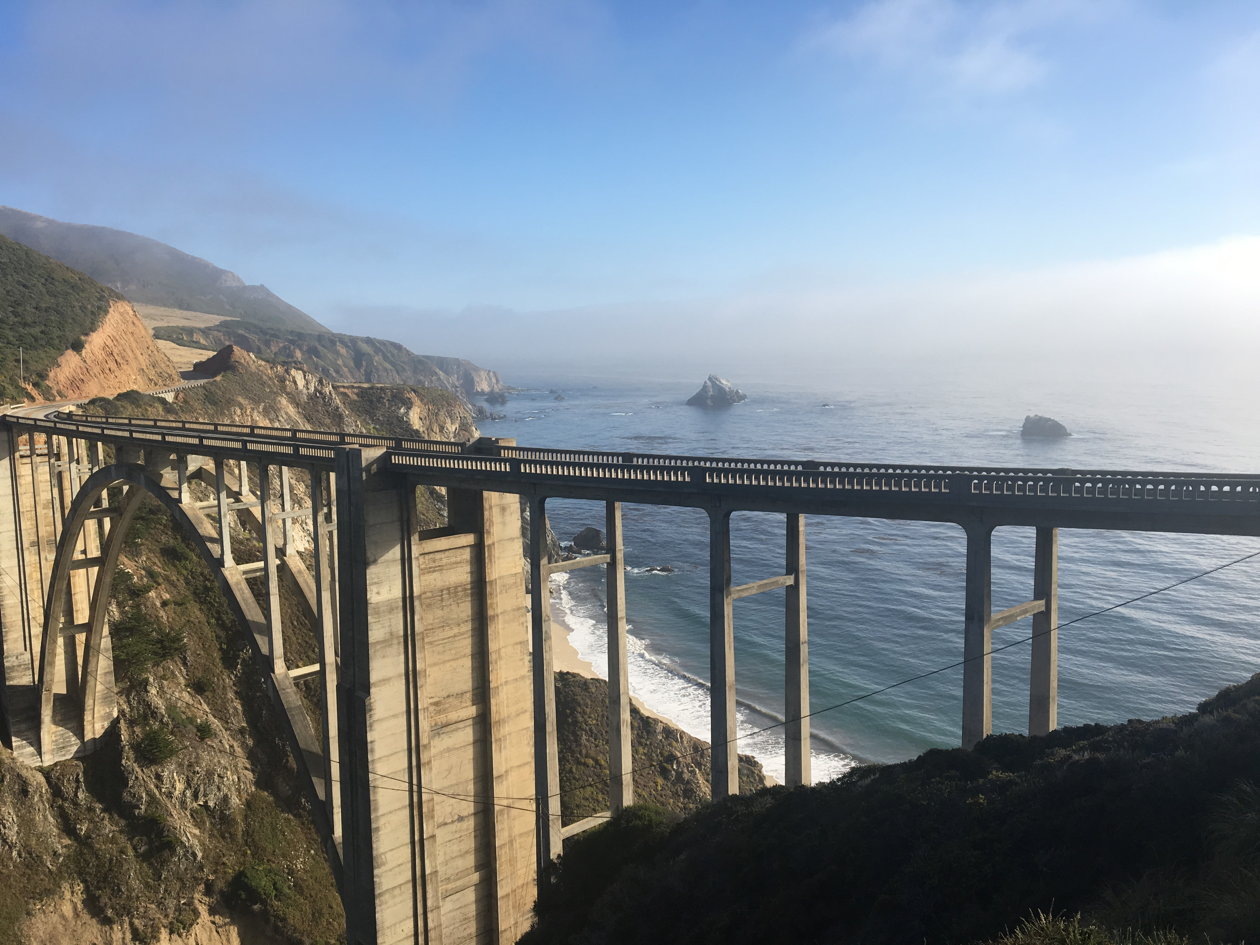 Bixby Creek Bridge, Pacific Coast Highway