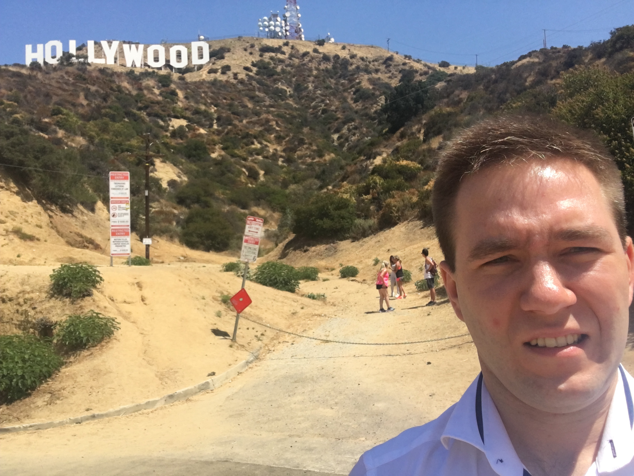 Hollywood Sign, pamiątkowe selfie