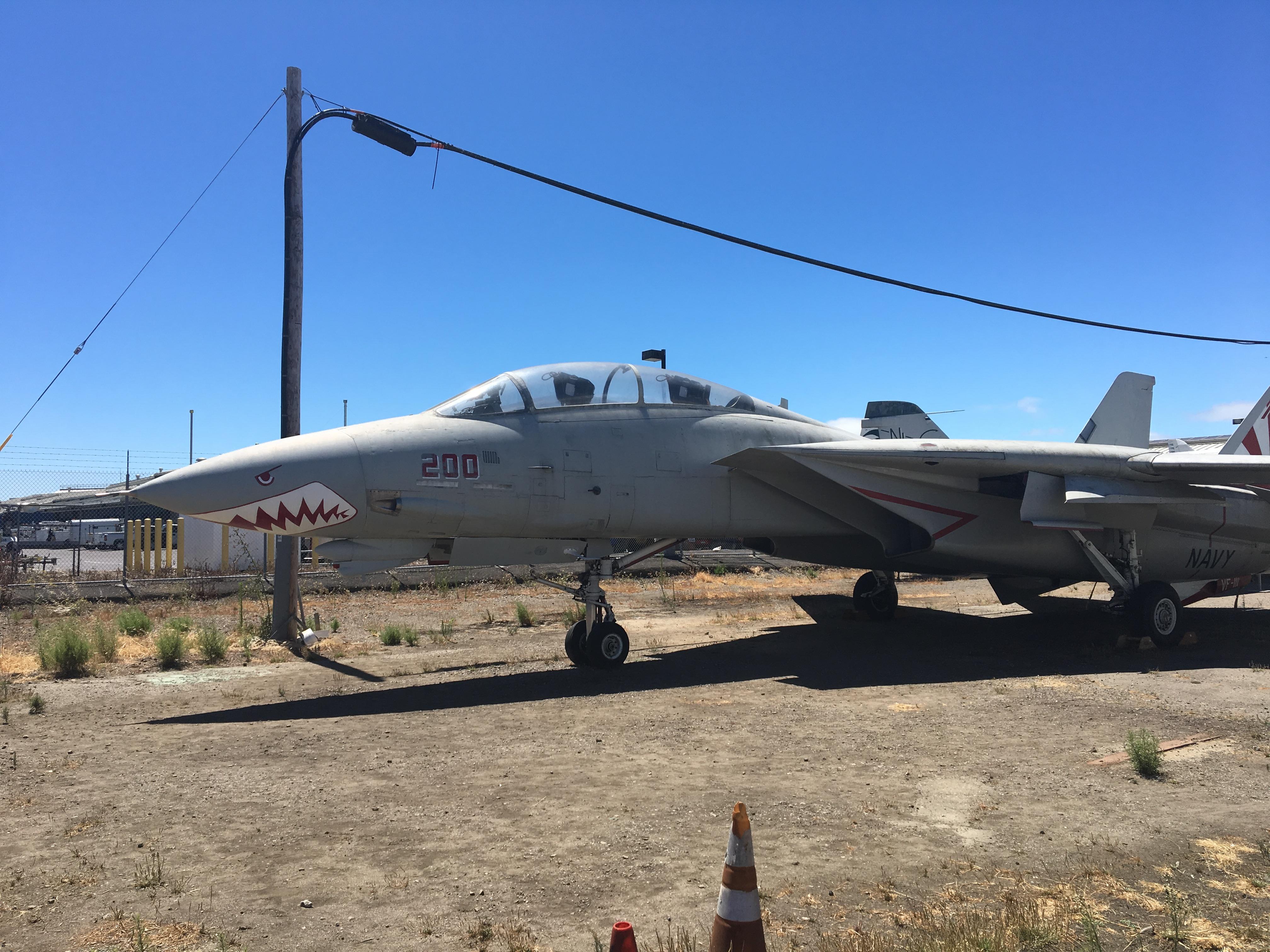 Mój ulubieniec F-14 Tomcat, a dokładnie to Grumman NF-14A Tomcat