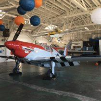 Marcel Jurca M-77 Gnatsum - replika myśliwca P-51B Mustang wskali 3:4