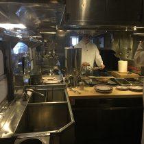 Kuchnia w wagonie restauracyjnym