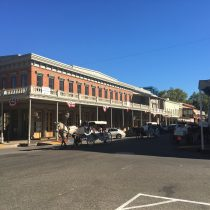 Sacramento - Old Town - nie wiem dlaczego ale przypomina mi scenerię z serialu Dr. Quinn