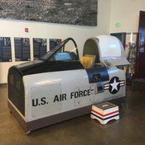 Kabina treningowa samolotu North American B-28B Trojan