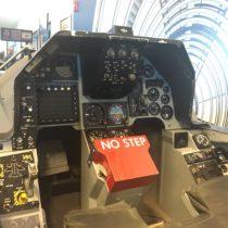 Kabina treningowa samolotu Lockheed Martin F-16A