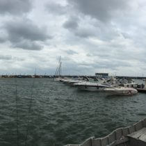 Port pustkami nieświeci.