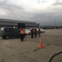 Taka ekipa czekała nanas nalotnisku wWarnie (LBWN).