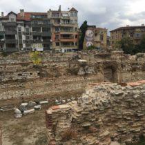 Ruiny łaźni rzymskiej - Warna, Bułgaria