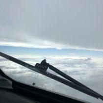 Rano latamy podsłońce, choć natym zdjęciu chroni nas jeszcze chmura As.