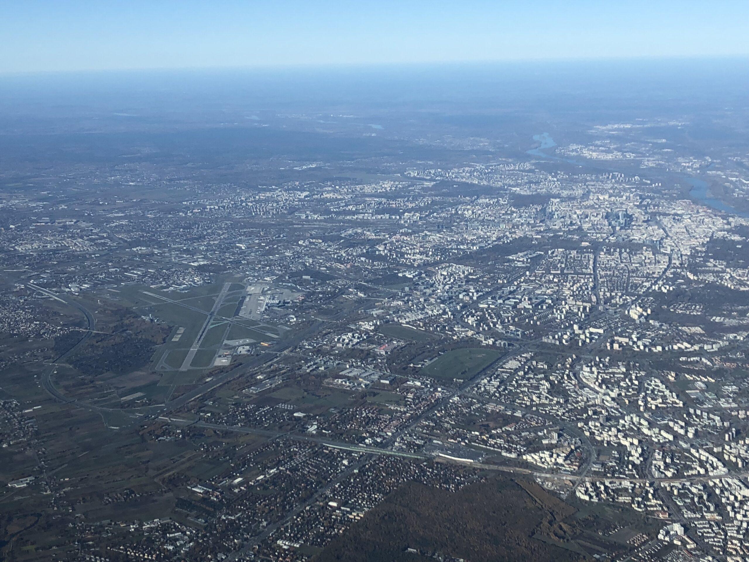 Warszawa w środku dnia