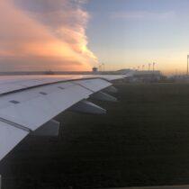 Airbus A380-800 - skrzydło. Jaki ten samolot jest potężny!