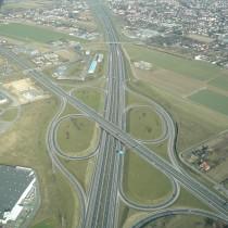 Węzeł drogowy Poznań-Komorniki wciągu autostrady A-2