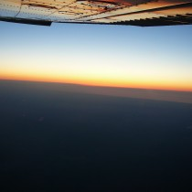 Zachód Słońca na FL95.