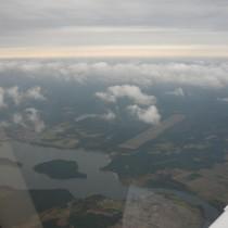 Droga startowa w Borsku, dawne lotnisko wojskowe, obecnie lądowisko (EPBO)