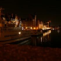 Gdańsk - bulwar wzdłuż Wisły