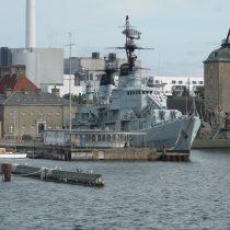 Nabrzeże portowe w Kopenhadze