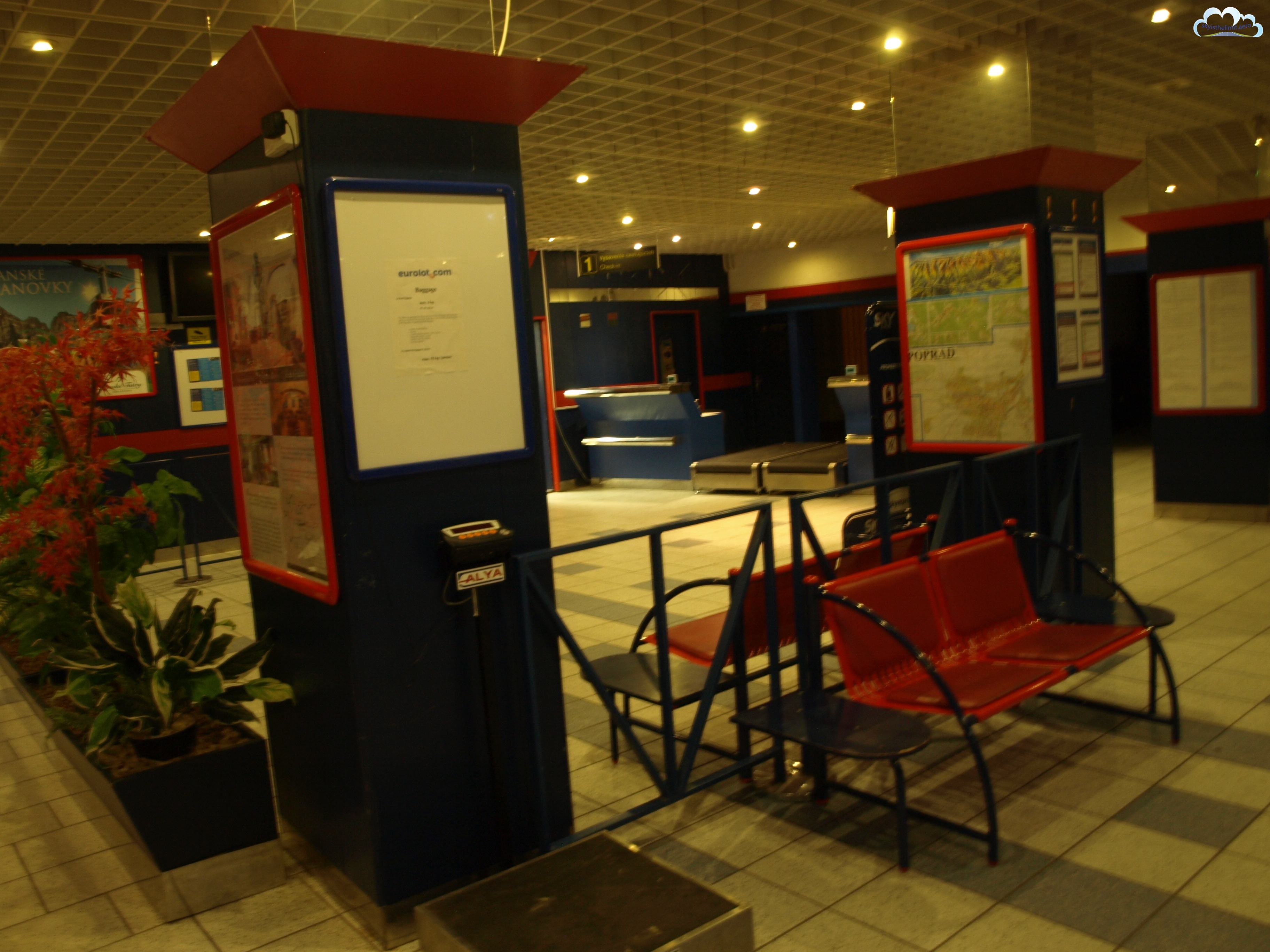 Terminal lotniska Poprad-Tatry LZTT