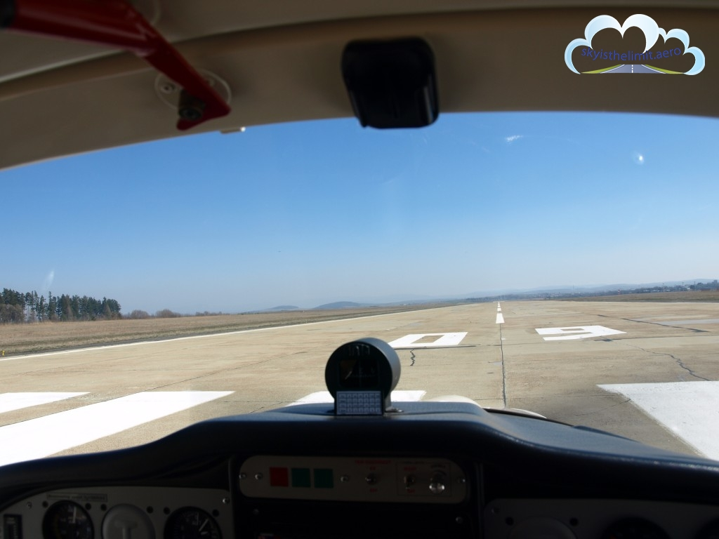 Cleared for Take-off, runway 09 - Poprad LZTT