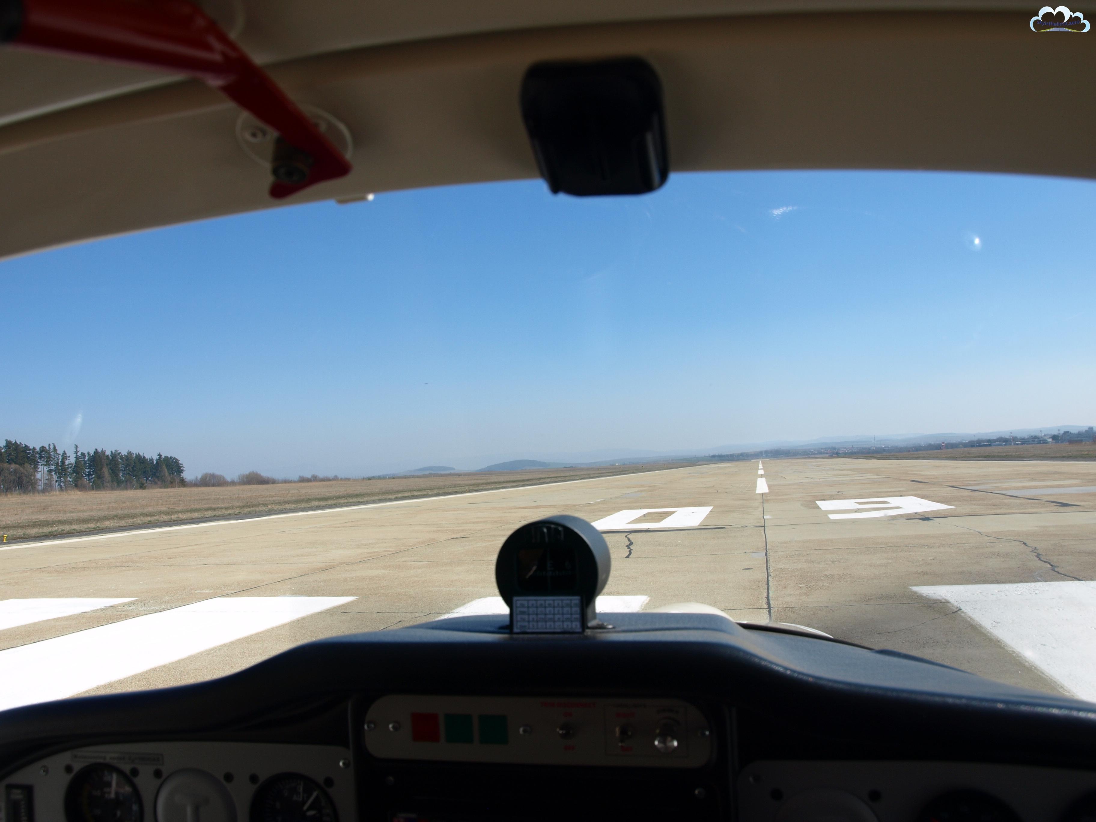Cleared for Take-off, runway 09 - Poprad LZTT