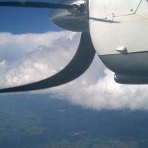 Chmurki są ładne aledla komfortu podróżnych omijamy gdysię da.